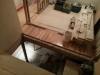 Démolition du garde corps de l'escalier du sous-sol