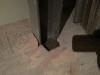 Ils ont coulé du béton plutôt que de visser deux des colonnes les moins solicitées