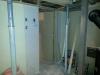 Ils ont déplacé de 6 pouces la porte de la salle de lavage au sous-sol