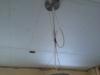 Gyproc au plafond de la cuisne
