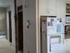 Nouveau muret à côté du réfrigérateur
