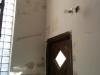 Plâtre dans le vestibule. Les imitations de bloc de béton sont complètement disparues