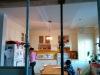 Le plafond de la cuisine
