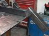 Fabrication de l'escalier en atelier