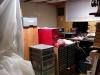 La poutre de soutien temporaires dans mon bureau a été enlevée