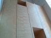 Les portes installées dans le rangement du vestibule