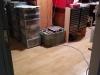Le plancher de mon bureau maintenant réparé