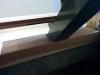 Ancrage de l'escalier au res-de-chaussée