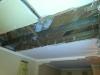 Percée dans le plafond du salon double pour l'escalier