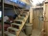 Agrandissement de la garderobe du sous-sol.