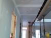 Plafond et mur du corridor