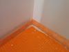 Membrane d'imperméabilité dans le vestibule