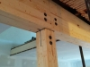la fameuse jonction entre 2 segments de poutre et une colonne